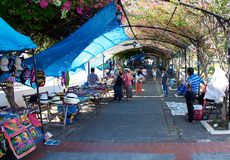 Open air market in Panama City Stock Photos