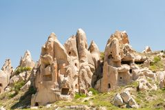 Open air Museum. Near Goreme in Cappadocia Stock Images
