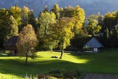 Open air museum Ballenberg in Switzerland royalty free stock photo