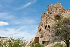 Open air Museum - Cave pigeon houses Stock Images