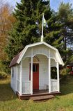 Playhouse at Open-air museum Hägnan Royalty Free Stock Photos