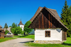 Open-air museum of Liptov in Slovakia royalty free stock image