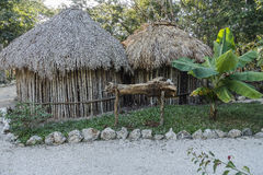 Open-air museum in Mexico stock image