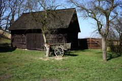 Open-air museum in Prerov nad Labem Royalty Free Stock Photography