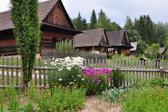Open air museum Roznov Royalty Free Stock Image