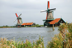 Open air museum Zaanse Schans Stock Photography