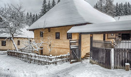 Open-air museum in Zuberec, Slovakia Royalty Free Stock Photo