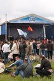 Open-air rock festival Stock Photo