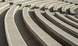 Open air stone amphitheater in Eilat. Stock Photos