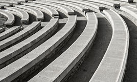 Open air stone amphitheater in Eilat. Stock Image