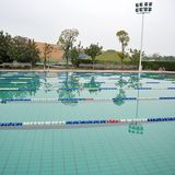 Open air swimming pool Stock Photos