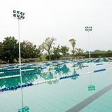 Open air swimming pool Stock Photo