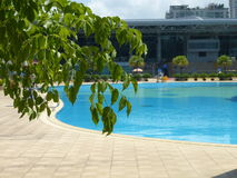 Open air swimming pool Royalty Free Stock Photo
