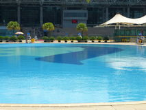 Open air swimming pool Stock Images