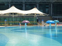 Open air swimming pool Royalty Free Stock Image