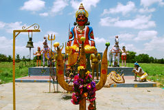 Open air temple in South India Royalty Free Stock Image