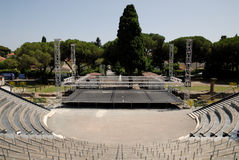 Open air theater in Frejus, France Stock Photography