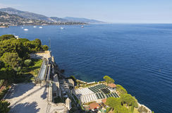 Open-air theater in Monaco Stock Photos