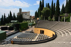 Open air theatre Stock Photos