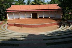 Open Air Theatre. Amidst for performing folk visual arts including dance, drama and music Stock Image