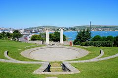 Open air theatre, Swanage. Stock Photos