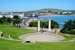 Open air theatre, Swanage. Royalty Free Stock Photography