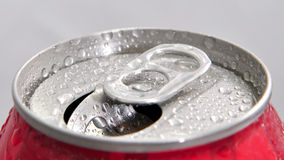 Open Aluminum Can Stock Image
