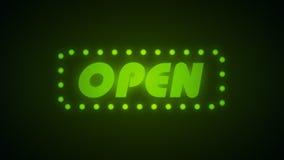 Open animatie, lijn stock videobeelden