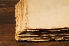Open antique book Royalty Free Stock Photo