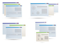 Open Application icons Royalty Free Stock Photos
