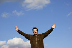 Open arms Royalty Free Stock Images
