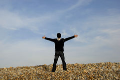 Open arms Royalty Free Stock Photography