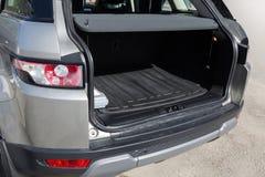 Open bagagedrager van auto Royalty-vrije Stock Afbeelding