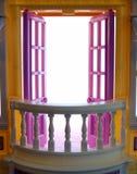 Open Balkon Royalty-vrije Stock Fotografie