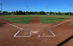 Open Ball Field Stock Photography