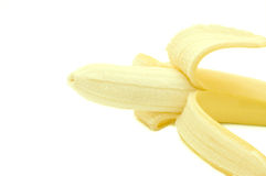 Open banana Stock Photography
