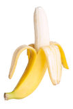 Open banana Royalty Free Stock Photography
