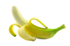 Open banana  Royalty Free Stock Images