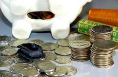 Open Bank Royalty-vrije Stock Afbeeldingen