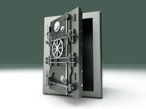 Open Vault Royalty Free Stock Image