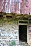 An open barn door Royalty Free Stock Images