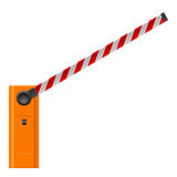 Open barrier Royalty Free Stock Photo