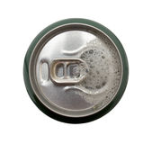 Open beer can Royalty Free Stock Photos