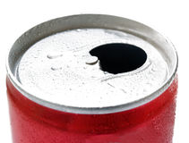 Open beer can Royalty Free Stock Image