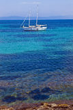 Open berth in Porquerolles island Royalty Free Stock Images