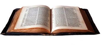 Open bible. Bible royalty free stock photo