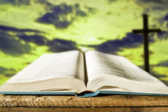 Open Bible Royalty Free Stock Photography