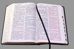Open Bible Stock Photo