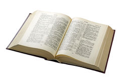 Open bible royalty free stock image