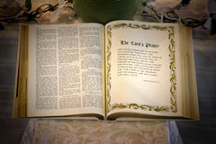 An Open Bible Royalty Free Stock Photos